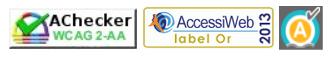 Pictogrammes accessiblité - AChecker - AccessiWeb 2013